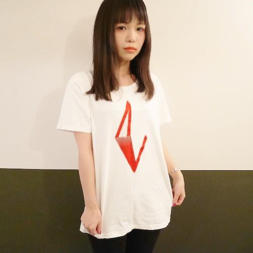 Tシャツ ~夜の光~ (ホワイト) -2016.2.6 サイン入り-
