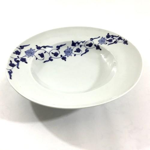 帯花唐草パスタ鉢