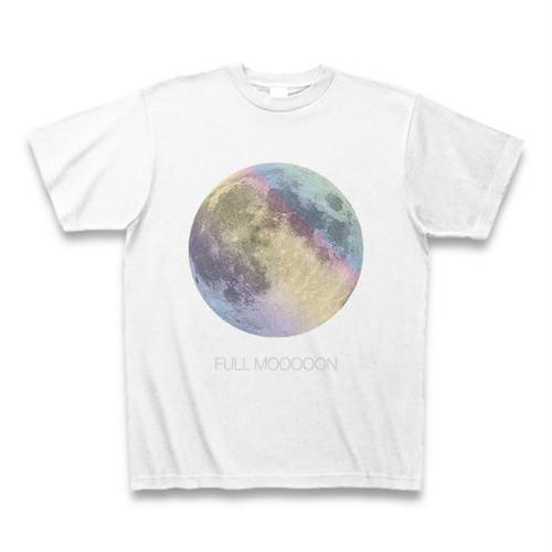 FULL MOON(満月)TシャツA(レインボー)