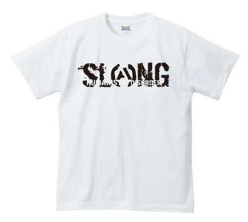 LOGO T-SHIRT(WHITE×BLACK)