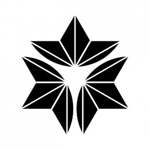外三つ割麻の葉 aiデータ