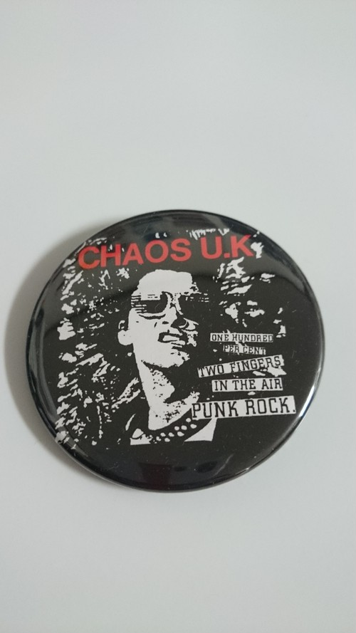 CHAOS U.K./缶バッジ(54mm)