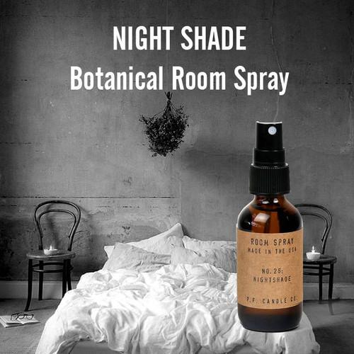 ルームスプレー/ナイトシェード スモーキー&スパイシーな甘さは夜におすすめの香りBotanical Room Spray25-NIGHTSHADE