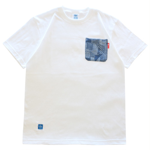 LIFE POCKET TEE (INDIGO) / LIFEdsgn