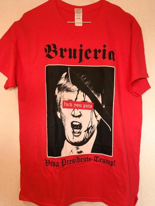 """Brujeria """"Viva Presidente Trump 2016"""" ツアーTシャツ"""