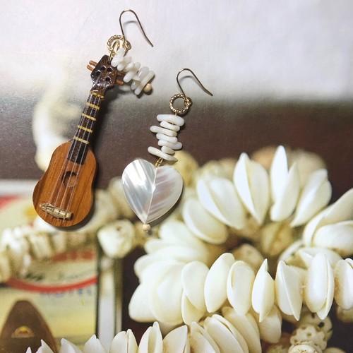 新色!【I love ukulele】アイラブウクレレ