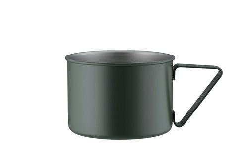 キャンピングマグ【グリーン/ブラック/ホワイト/シルバー】