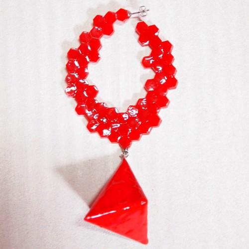 Queen-bee PIERCE[Red]