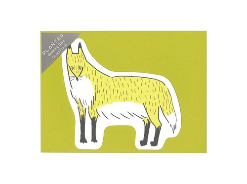 PLANTER グリーティングカード <kitsune>