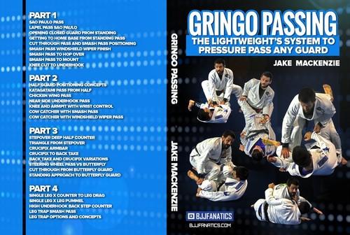 【お取り寄せ中です】今だけ送料無料!!! ジェイク・マッケンジー GRINGO パスガード|ブラジリアン柔術教則DVD