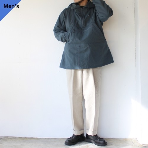 ENDS and MEANS アノラックパーカ Field Anorak EM201J004 (Smoky Blue)