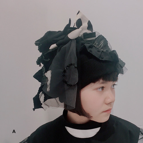 kouitten / 白黒ニット帽
