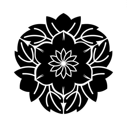 葉敷花鉄仙(1) aiデータ