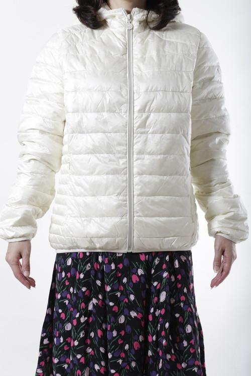 【CLAIRVAL】ダウンジャケット  ホワイト