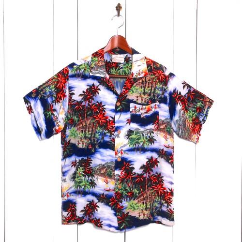 1950年代製 / ロイヤルハワイアン /  ビンテージアロハシャツ