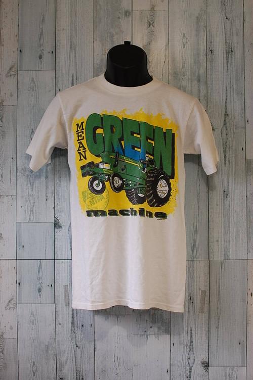 アメリカ輸入古着Mean Green Machine Tシャツ RankC☆アメカジ古着ファッション