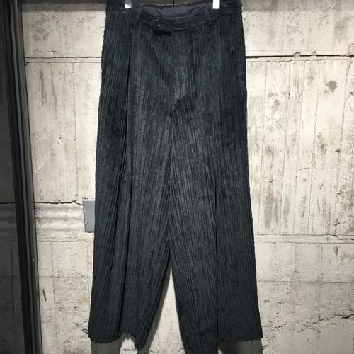 【FIT -MIHARA YASUHIRO-】 BIG CORDUROY PANTS
