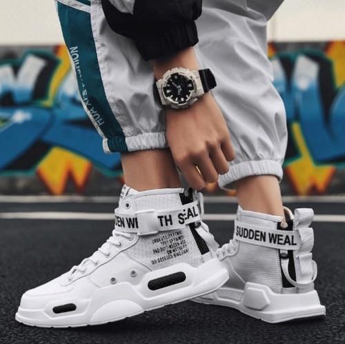 ユニセックススニーカー メンズ ブラックホワイトモデル スポーツシューズ トレーニング ストリートファッション