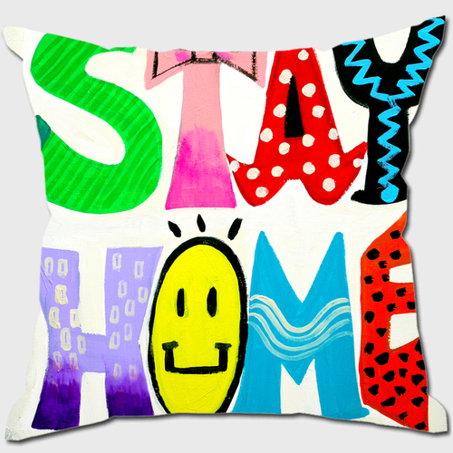 STAYHOME クッション