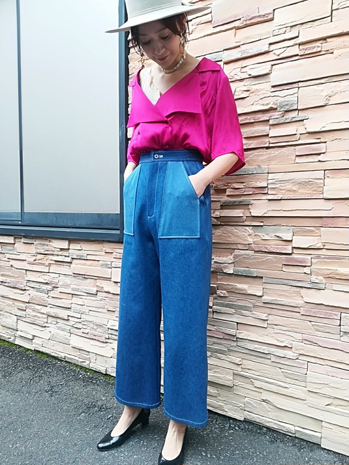 2pockets Denim pants サイズM
