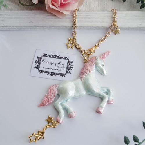 unicorn バッグチャーム
