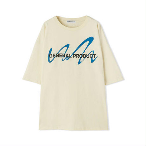 GENERAL PRODUCT × COIN PARKING DELIVERY Logo T-Shirts BEIGE