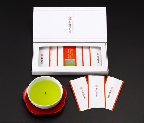 茶柱縁起茶6包入り(ギフト箱)