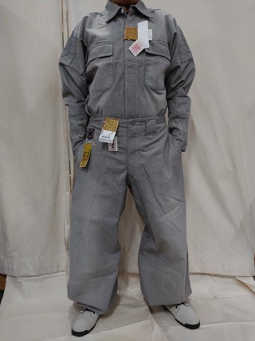 TOBI 63-61C(LL)・-29C(L)手甲シャツ・B-2上下セット チェック アウトレット品