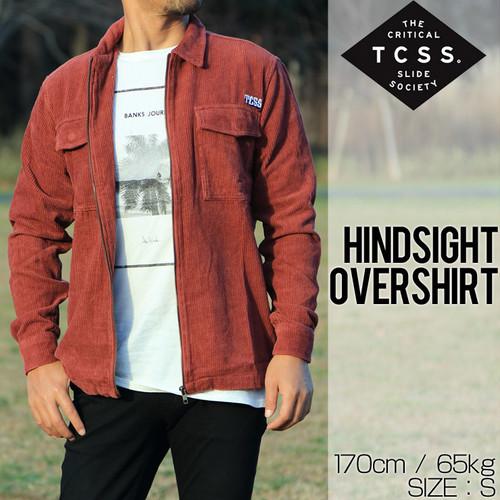 [クリックポスト対応] TCSS ティーシーエスエス HINDSIGHT OVERSHIRT シャツジャケット LS1815