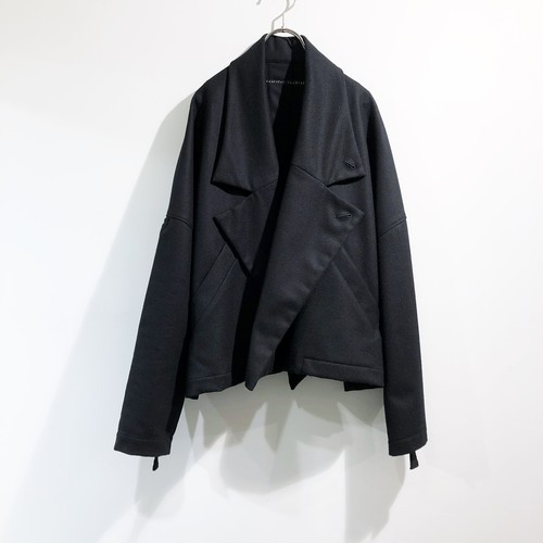 my beautiful landlet 【マイビューティフルランドレット】 FLANNEL WOOL WIDE JACKET