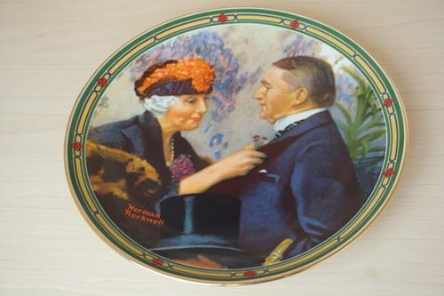 ノーマンロックウェル 絵皿(114-22)