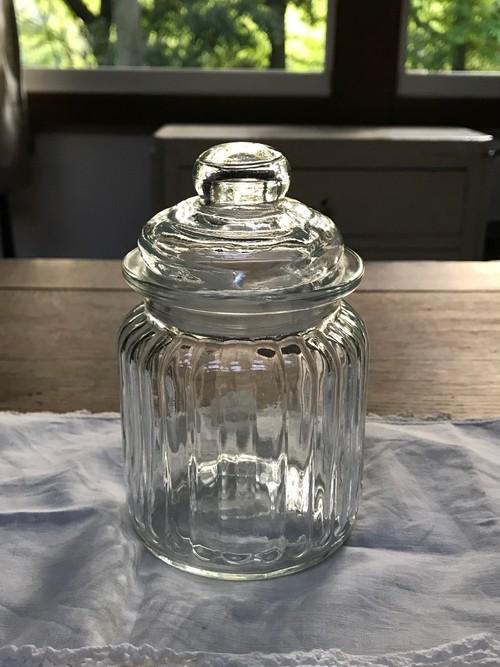 ヨーロッパアンティーク ガラス製 ポプリポット