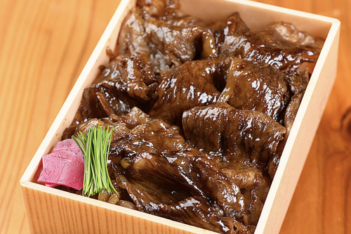 肉一面すき焼き弁当