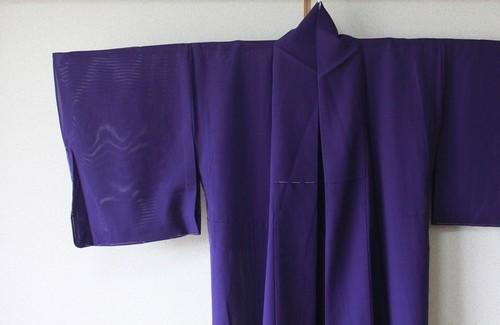 絽 着物 紫 完売☆ありがとうございました。