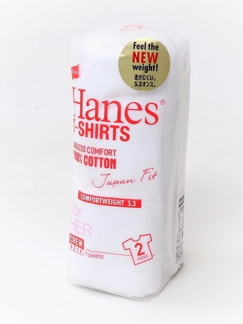 【Hanes】CREW NECK T SHIRT(2 pieces)