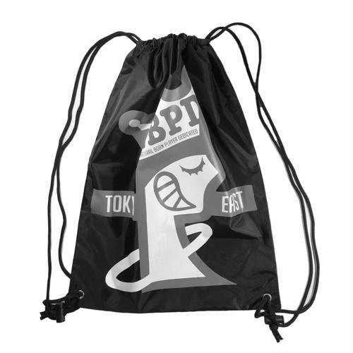 """Printed Nylon Strings Bag """"Tokyo East"""""""