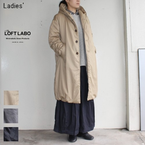 THE LOFTLABO 【17-18秋冬】フードロングダウンコート WIIS TL15FJK4 (BEIGE)
