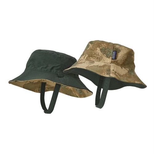 Patagonia Baby Sun Bucket Hat ( HASGカラー ) キッズ パタゴニア  サンバケットハット