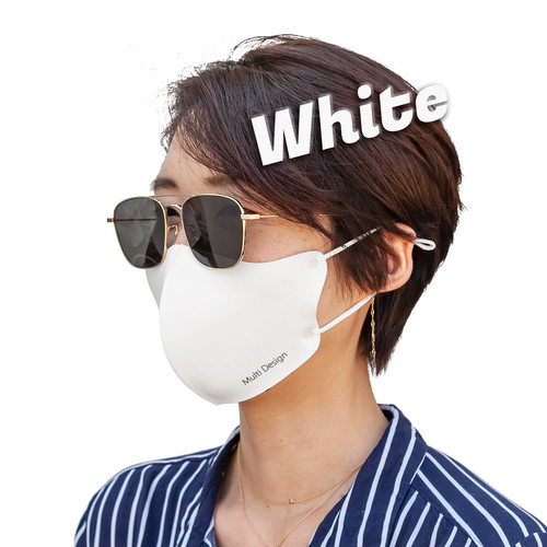MDM-507【チャリティー企画マスク】日本製 抗菌防臭 繰り返し洗える 冷感マスク (3枚セット)