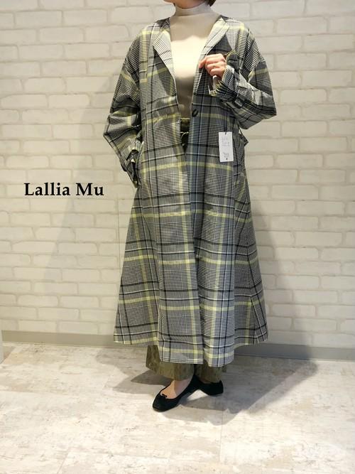 Lallia Mu/デザイントレンチコート/2111185(オフ)