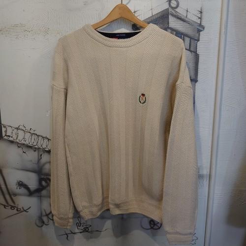 CHAPS Ralph Lauren logo knit