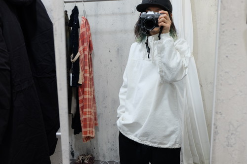 cotton High neck anorak