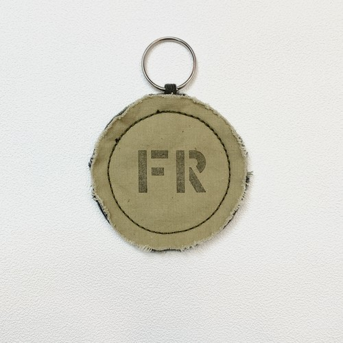 【JETMINMIN】REMAKEYキーホルダー フランス軍テント