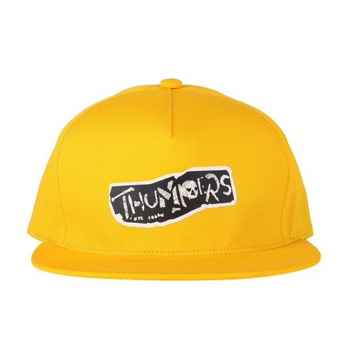 PUNK LOGO CAP (YELLOW) / THUMPERS