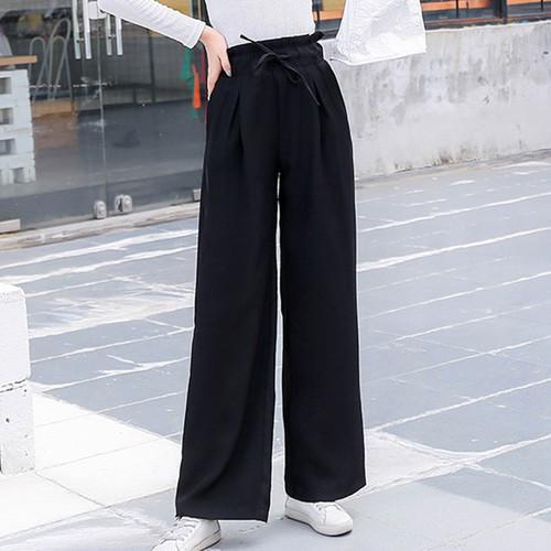 【ボトムス】レディースファッション秋ハイウエストルーズカジュアルパンツ22489156
