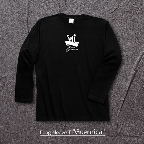 """Guernica"" Long Sleeve T Crew Neck(バックプリント無)"