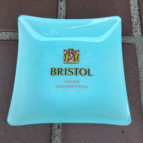 Vintage Bristol Tipped Cigarettes Ashtray
