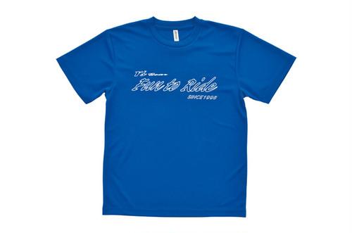 アールズ・ギア オリジナルTシャツ ブルー 150サイズ[0101-02BU-15]