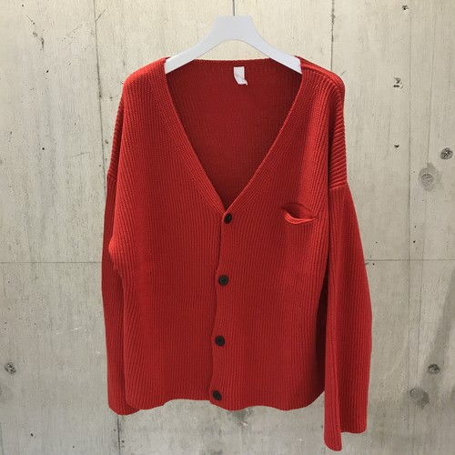 ROTOL CORDURA BIG CARDIGAN RED