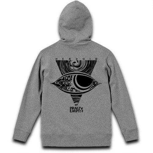 """VISIBLE"" GRAY [HOODY]"